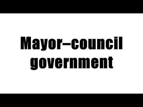 Mayor–council government