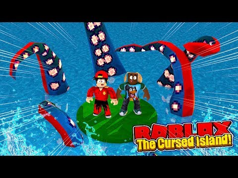 ROBLOX - STRANDED ON THE CURSED ISLAND!!