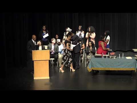 Thornton H. S. National Honor Society Induction--2017