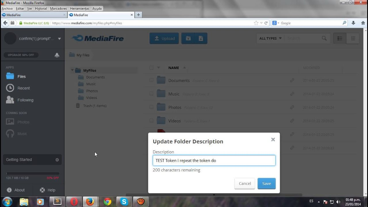 Remote code execution (RCE) in MediaFire