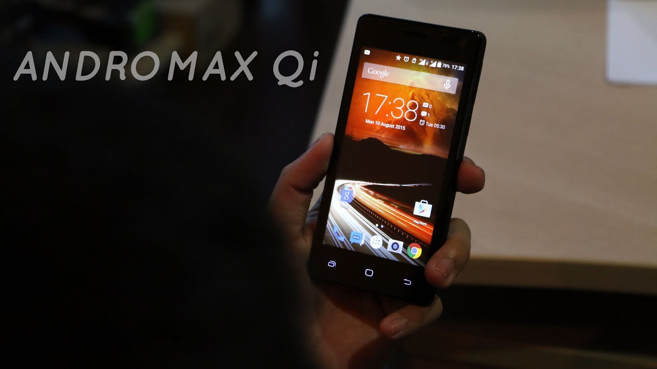 REVIEW] Smartfren Andromax Qi  YouTube