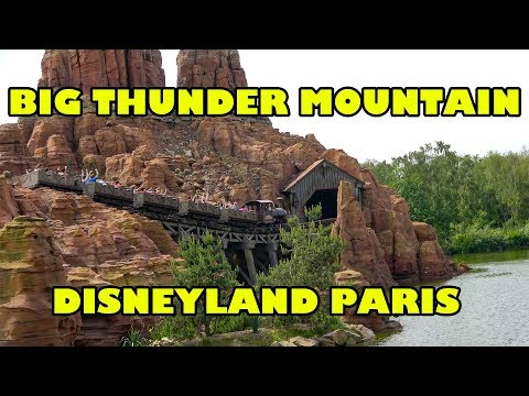 Big Thunder Mountain AWESOME Disneyland Paris Version! Disney Roller Coaster Onride POV