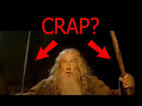 Would Gandalf be crap in a fight?