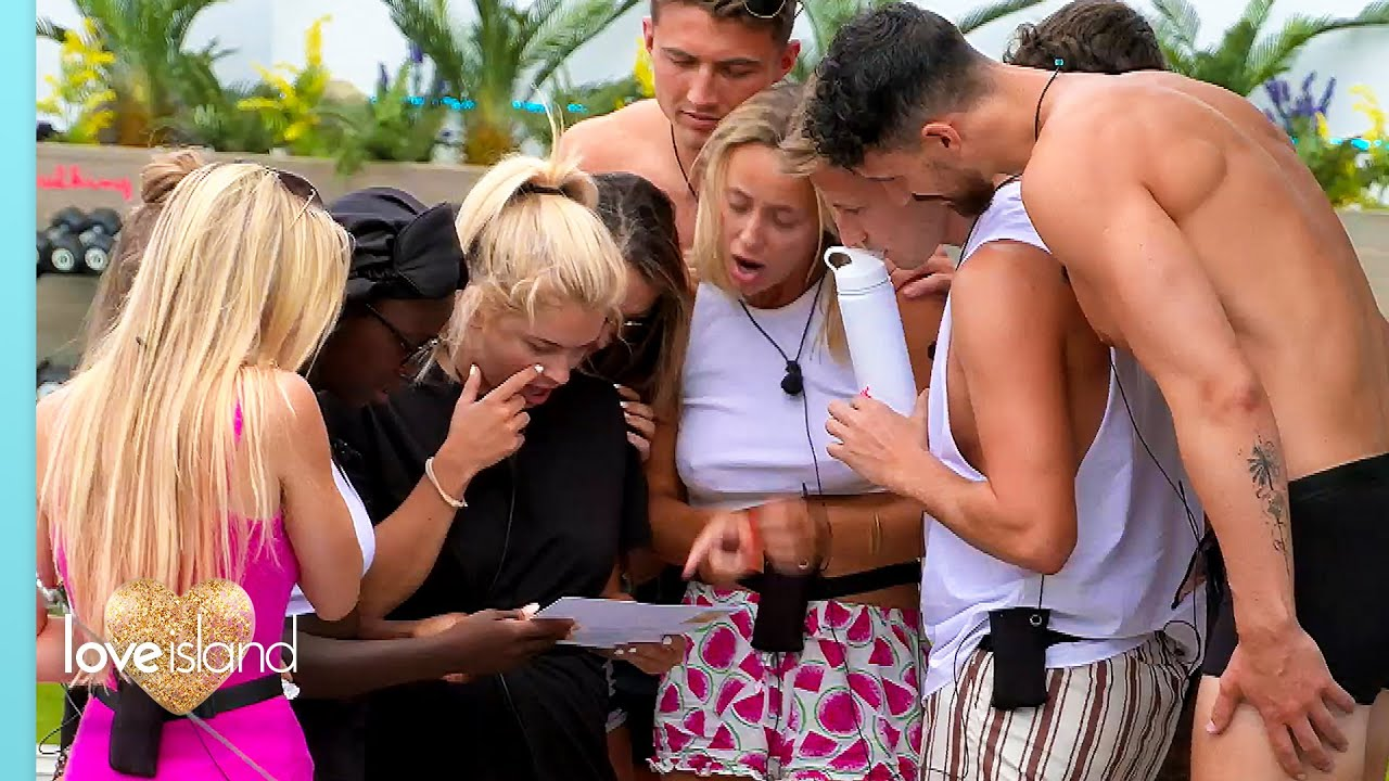 Download FIRST LOOK: The girls are fuming after receiving a postcard from Casa Amor... | Love Island 2021