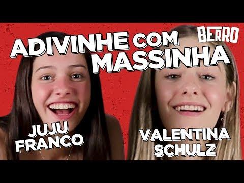 SORVETE ou COCÔ? JUJU FRANCO e VALENTINA SCHULZ fazem COISAS com MASSINHA