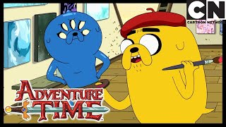 New Adventure Time! | Jermaine Comforts Jake | Abstract | Cartoon Network
