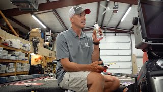 Top 3 BAITS for AUGUST bass fishing!