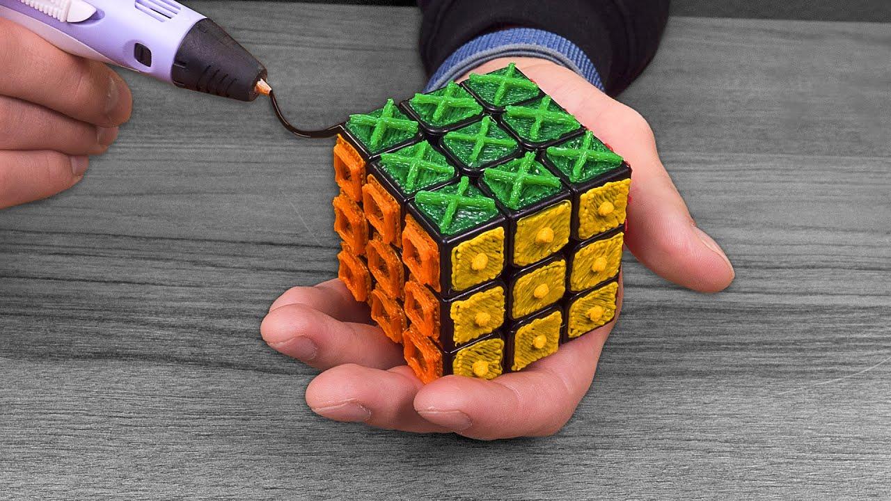 штейнбок получил сделать фото кубик рубик простыми трафаретами