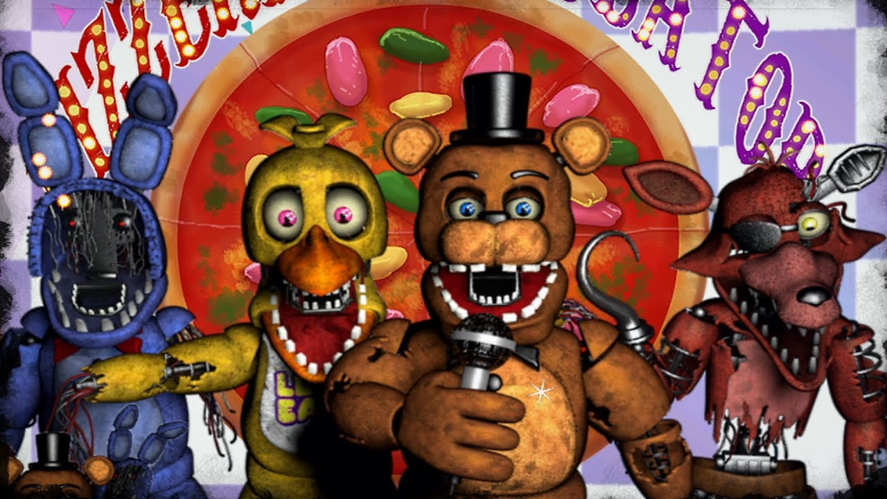 Freddy Fazbear's Pizzeria Simulator - Withered Animatronics (Mod)