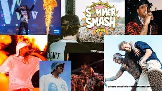 Lyrical Lemonade Summer Smash Day 1 Concerts - A$AP Rocky, Swae Lee, lil Yachty, Tecca, Skies + More