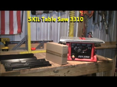 Table Saw Review Skil 3310