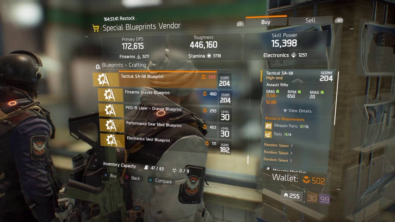 The division special blueprint vendor restock aug 122016 youtube the division special blueprint vendor restock aug 122016 malvernweather Image collections