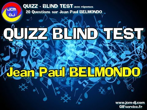 JCM-DJ Quizz Blind test - Jean Paul Belmondo