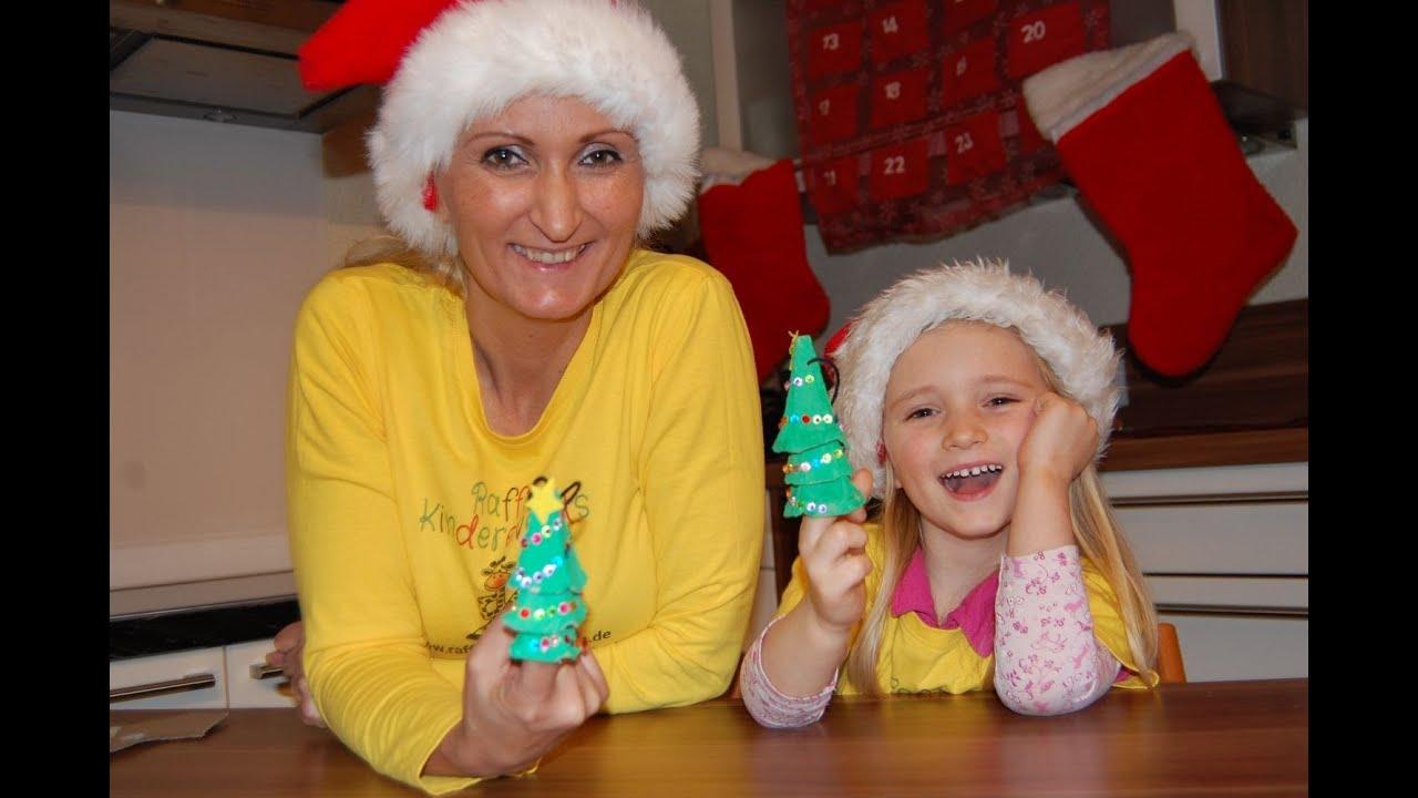 Weihnachten advent recycling basteln mit kindern teil2 - Interaktive weihnachtskarte ...