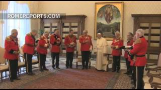 Pope Francis Prays With The Government Of The Order Of Malta