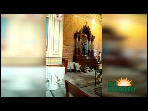 Capturan a mujer en Catedral de Tampico