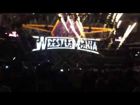 WrestleMania 30 Opening Video/Pyro