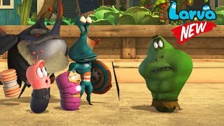 Larva 2018 Cartoon Full Movie | Episodes ICE and LarVengers | Larva Terbaru New Season