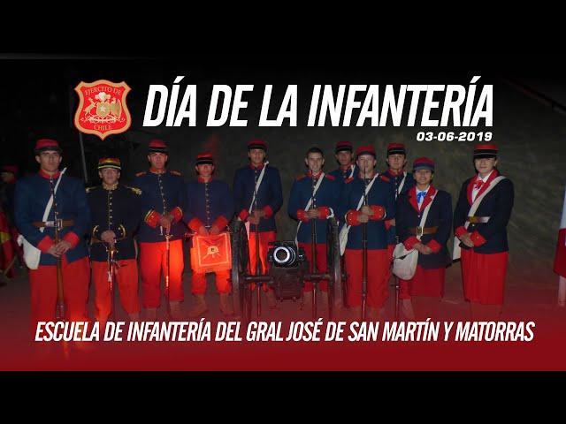 Alegoría día de la Infantería 2019, Escuela de Infantería del Gral José de San Martín y Matorras