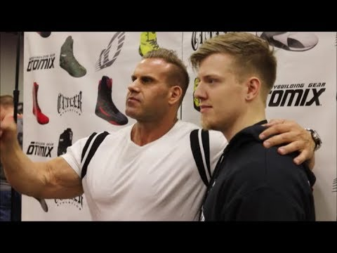 Meeting Jay Cutler at the 2019 Arnold Classic