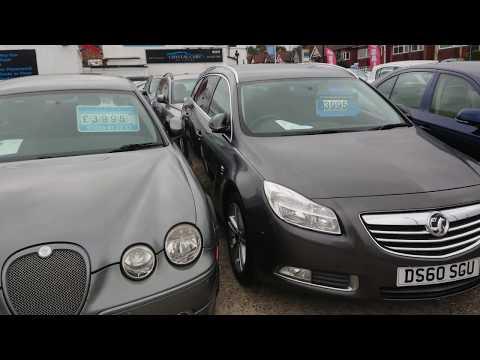 Цены на б/у автомобили в Англии