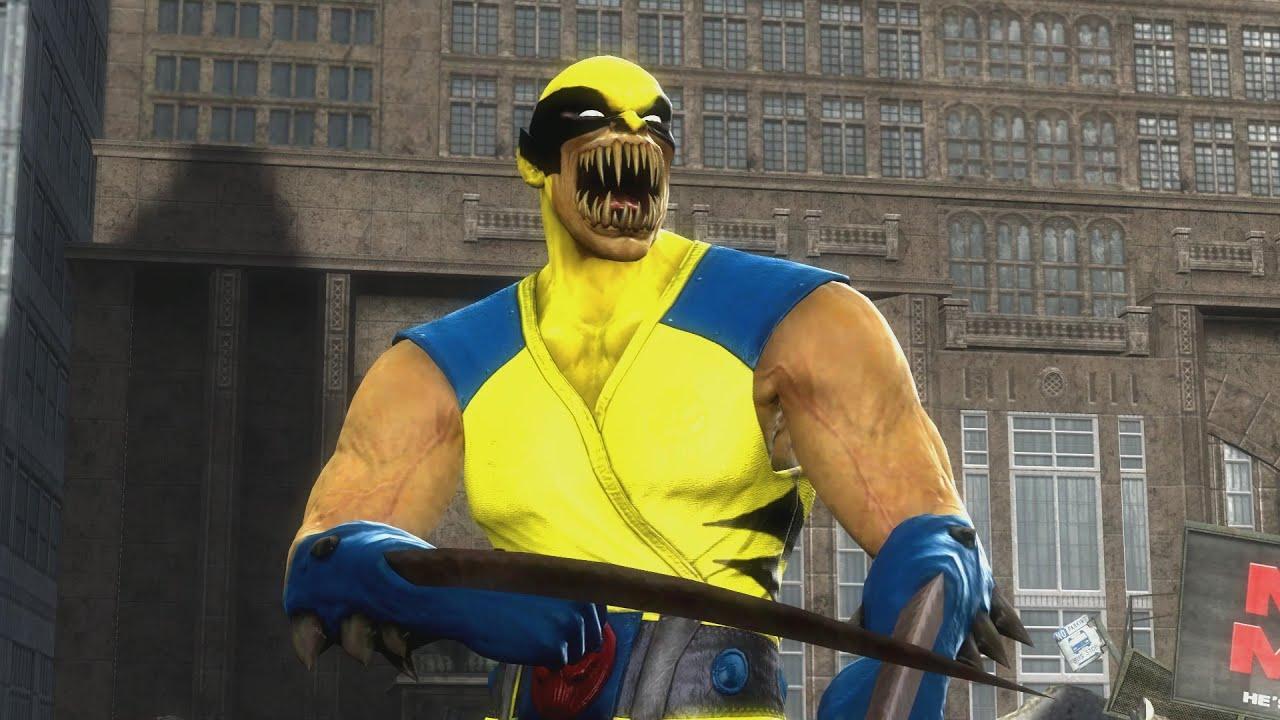Mortal Kombat 9 Baraka Wolverine - YouTube - photo#23