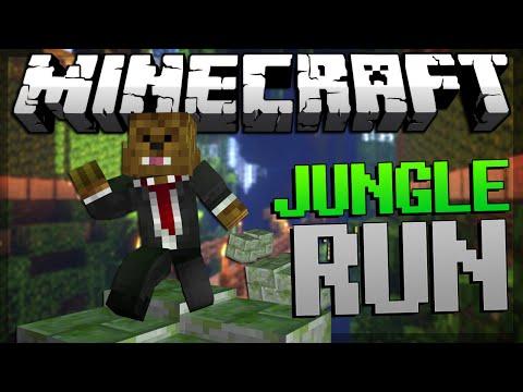 Minecraft Jungle Run Parkour w/ TBNRFrags and Vaecon