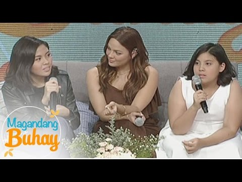 Magandang Buhay: KC, Miel and Frankie's message for their mom