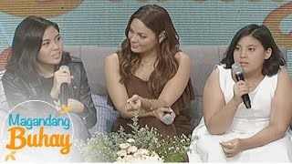 Magandang Buhay Kc Miel And Frankies Message Their Mom