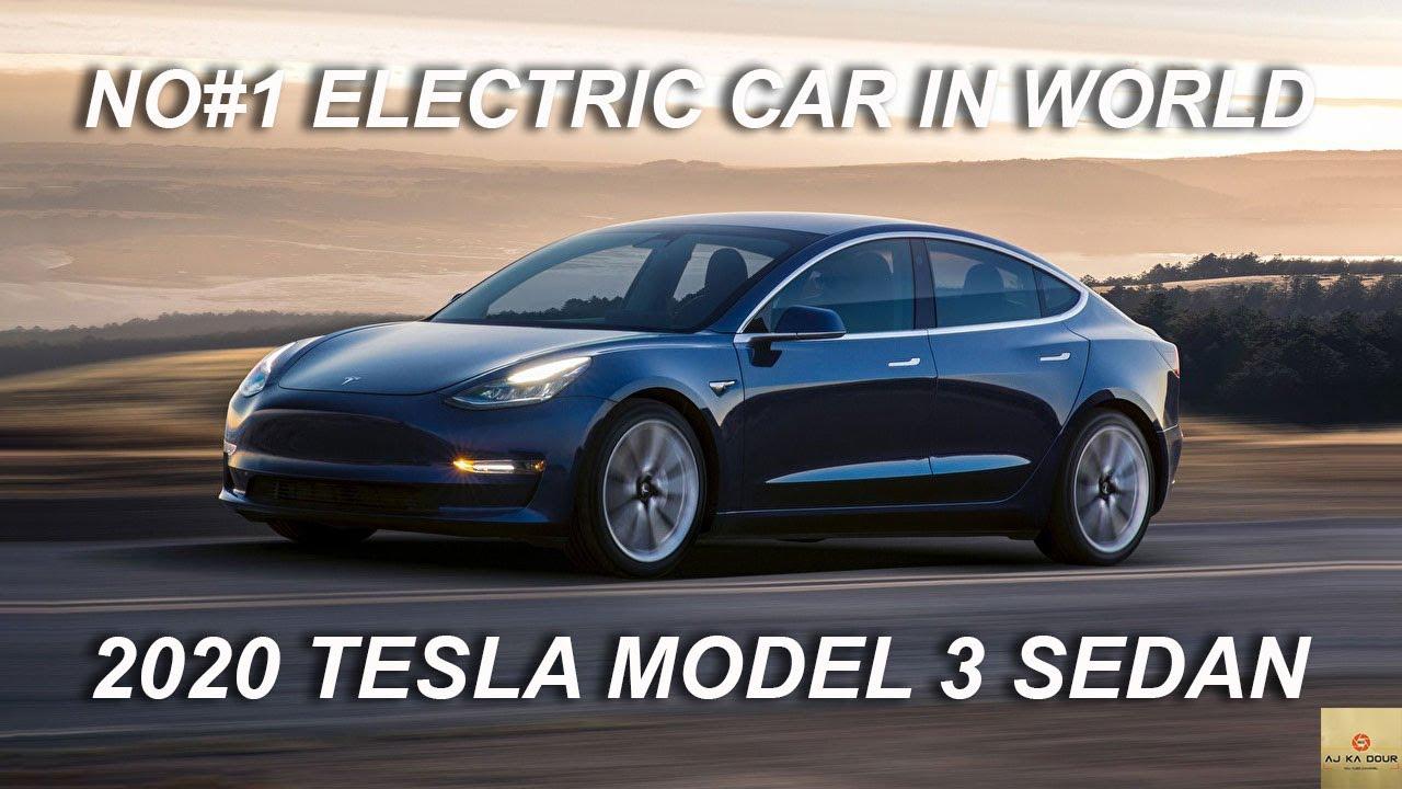 tesla model 3 sedan | 2020 new electric car | tesla model ...