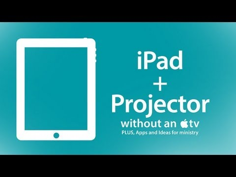 CMD.tv 137: Show Your IPad On Your Projector Without An Apple TV