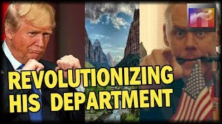 Trump's Interior Boss is about to REVOLUTIONIZE His Department unlike anything seen in 168 Years!