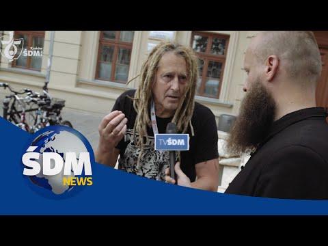 """[ŚDM News] """"Wstań i walcz"""" - Wywiad z Darkiem Malejonkiem"""