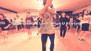 안산댄스학원 렉스댄스 REXDANCE | The Internet Look What U Started  | Choreographer K jun