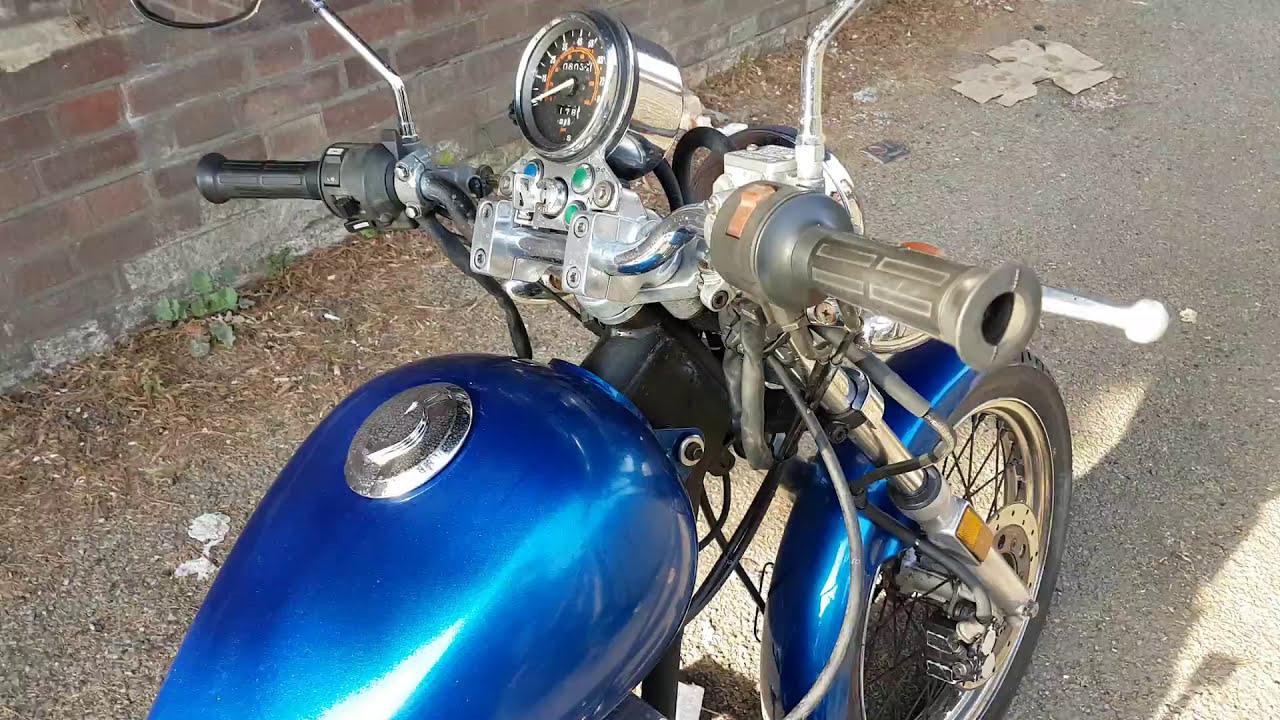 Honda Cmx 250 Rebel 85 U0026 39  Custom Build  Startup And Sound