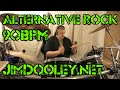 Download Alternative Rock Drum Beat with effects 90 bpm - Jim Dooley MP3 song and Music Video