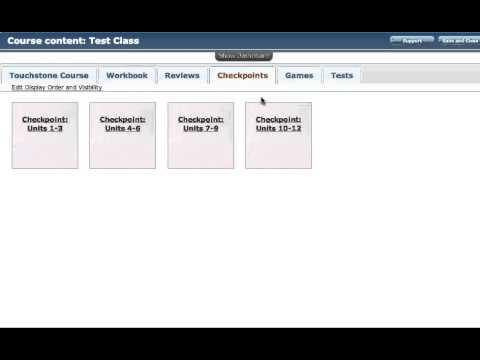 Touchstone Online English Program: Organization