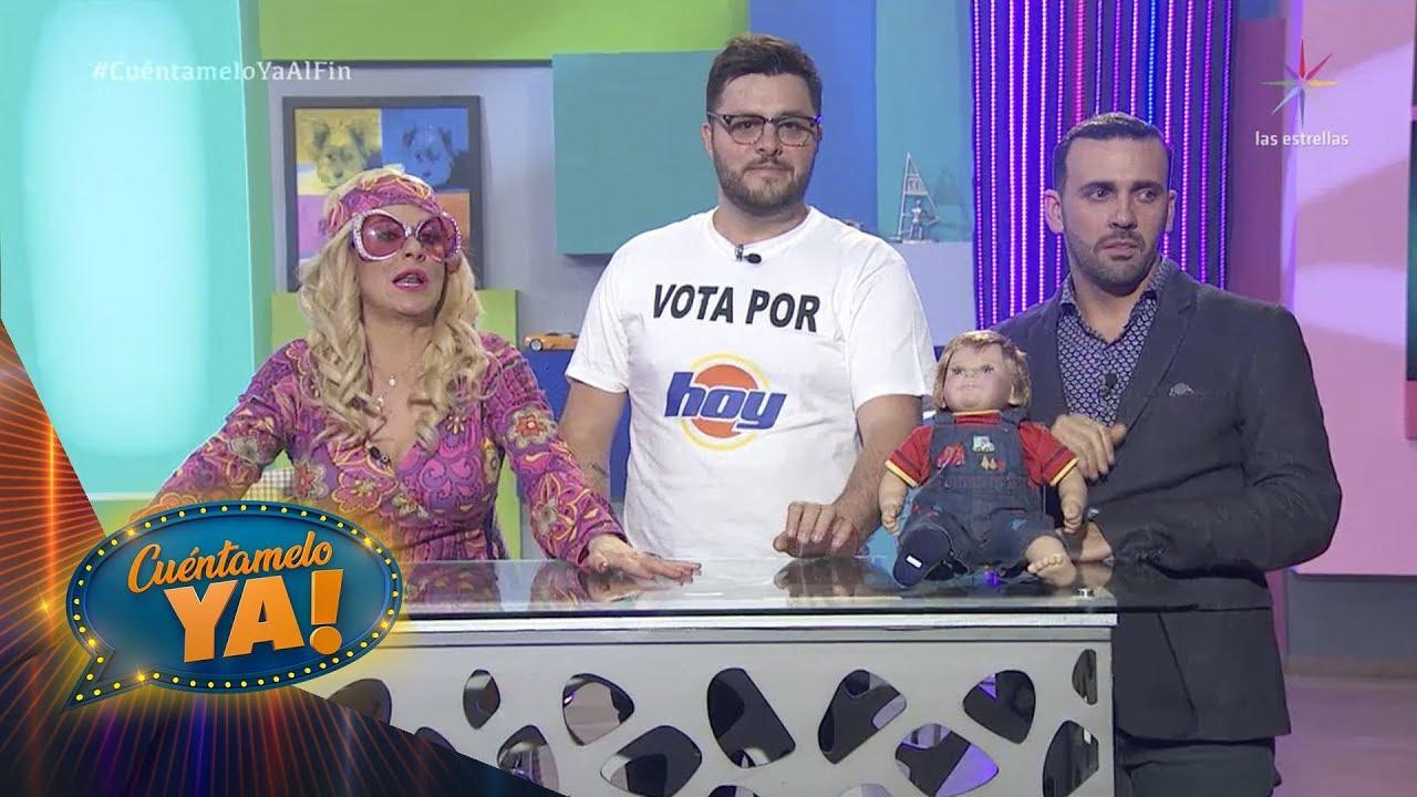¡Carlos Trejo acepta la pelea contra Alfredo Adame! | Los Tu-vasos | Cuéntamelo YA! Al fin