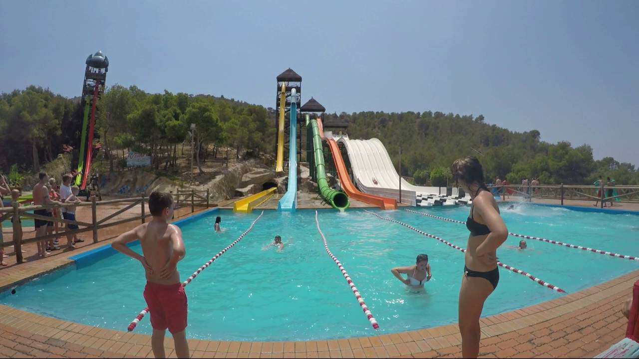 Активный отдых в Испании для всей семьи - аквапарк Акваландия в Бенидорме