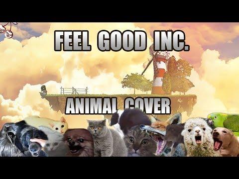 Gorillaz - Feel Good Inc. (Animal Cover)