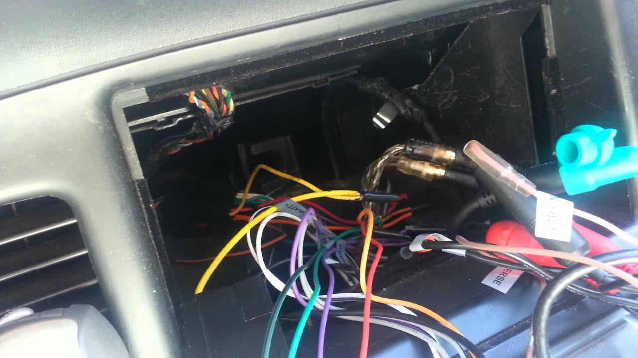 maxresdefault quick install for ouku dvd headunit youtube ouku double din wiring harness at n-0.co