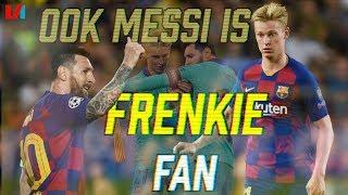 """Staande Ovatie Voor Frenkie: """"Je Ziet De Connectie Frenkie-Messi Ontstaan"""""""