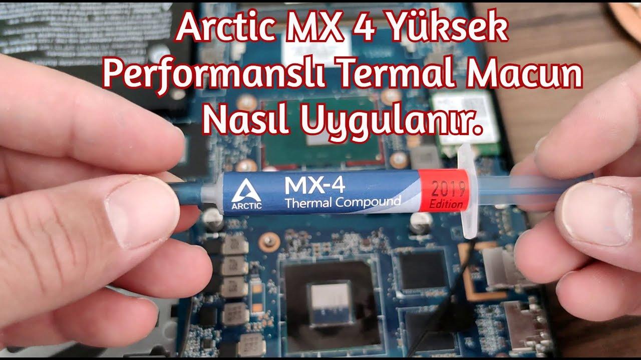 Arctic MX 4 Yüksek Performanslı Termal Macun Nasıl Uygulanır.