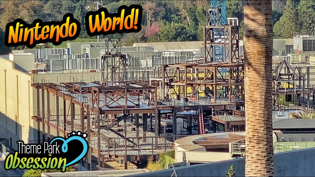 Super Nintendo World Update & Universal City Walk | Universal Studios Hollywood