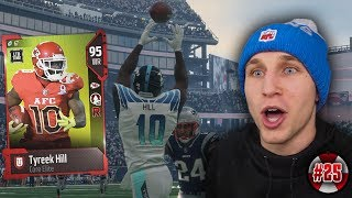 FASTEST PLAYER IN THE GAME! TYREEK HILL IN OUR SUPER BOWL! WHEEL OF MUT! EP. #25