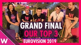 Eurovision 2019 Grand Final: Our Top 3 before jury show