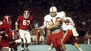 1972 Orange Bowl #1 Nebraska (12-0) vs #2 Alabama (11-0)