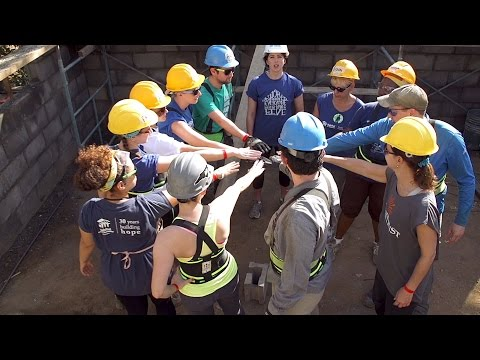 Habitat Young Professionals: Volunteer opportunities in the U.S. and abroad