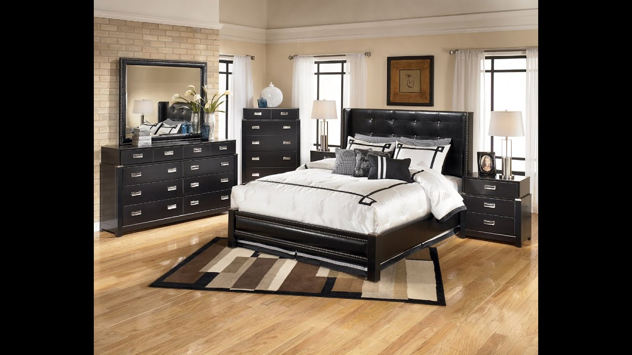 ashley furniture bedroom sets - youtube