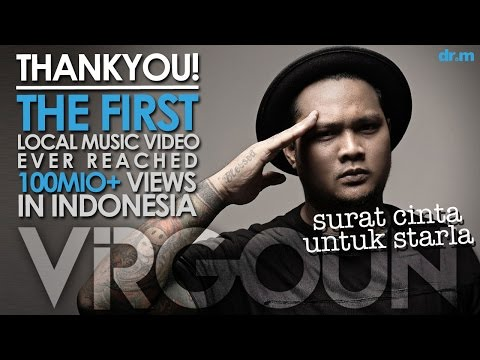 THANK YOU FOR 100MIO+ VIEWS SURAT CINTA UNTUK STARLA